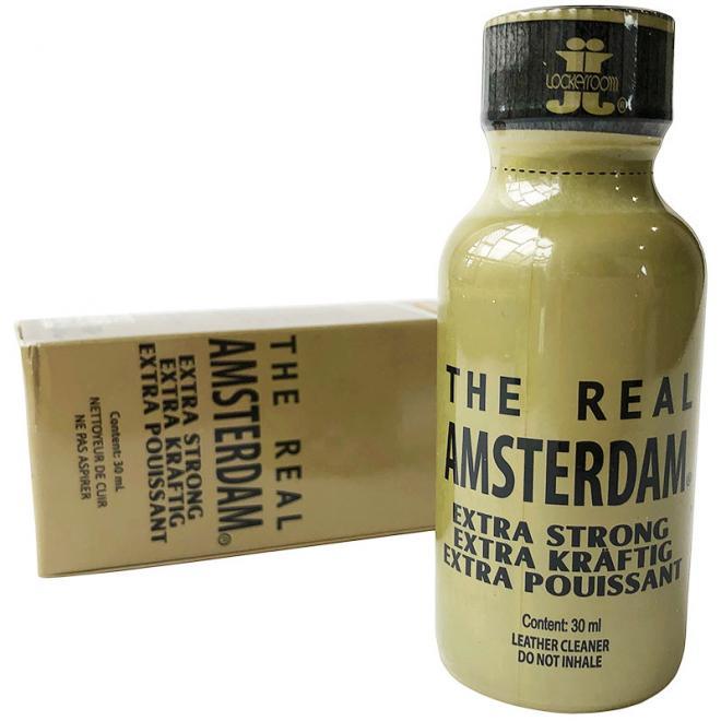 Попперс The Real Amsterdam 30 мл (Канада) купить в Москве